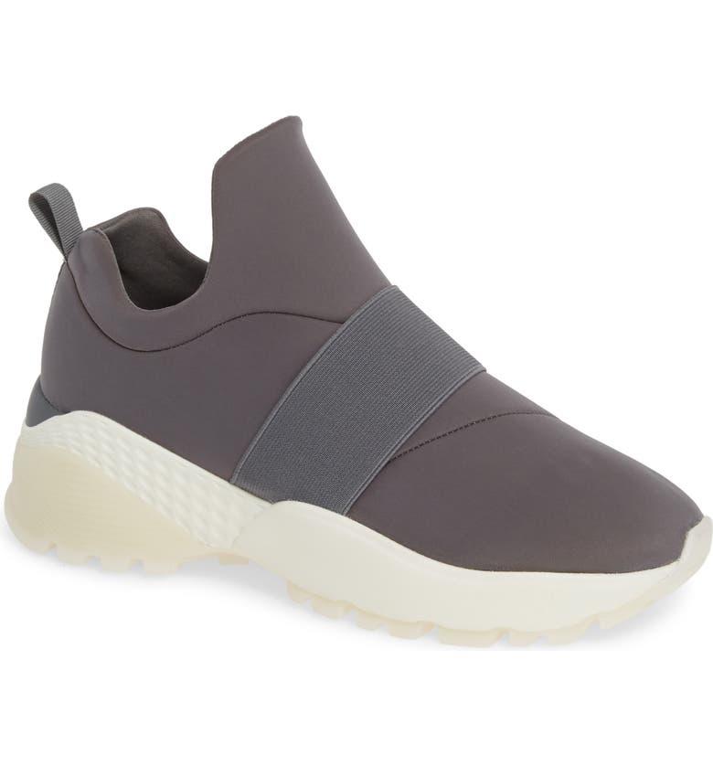 JSLIDES Slip-On Sneaker, Main, color, GREY FABRIC
