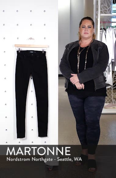 Barbara High Waist Skinny Jeans, sales video thumbnail