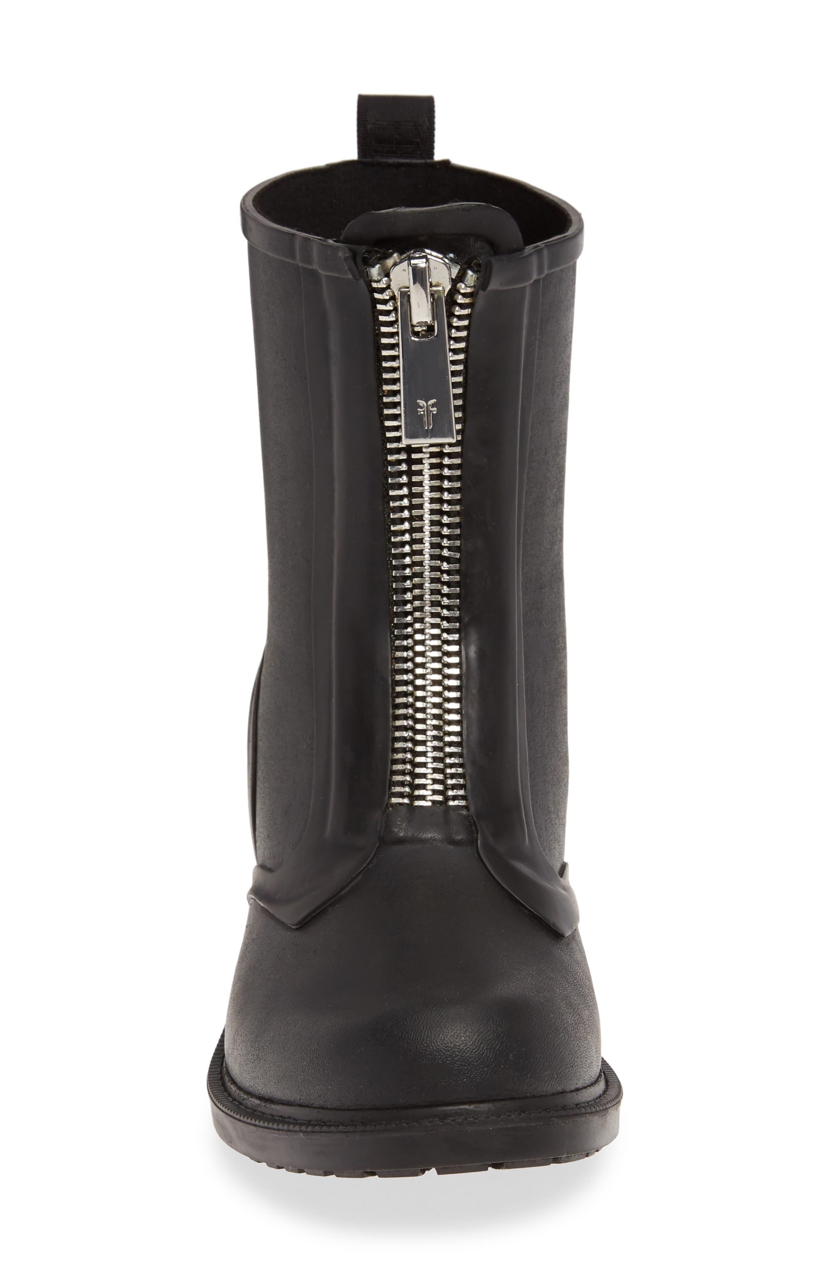 ,                             Storm Waterproof Rain Boot,                             Alternate thumbnail 4, color,                             BLACK