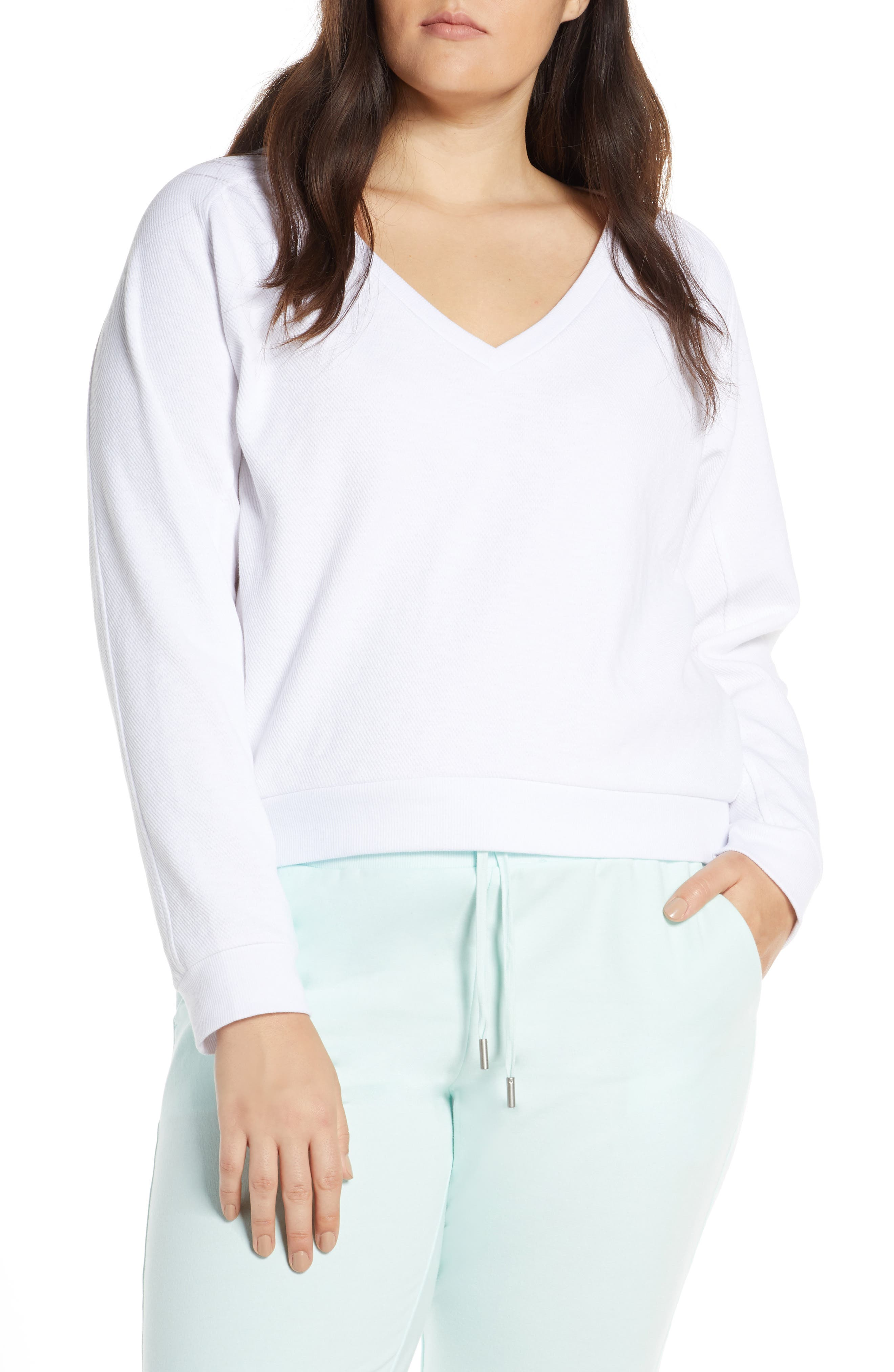 ,                             Vienna Pullover,                             Alternate thumbnail 4, color,                             WHITE