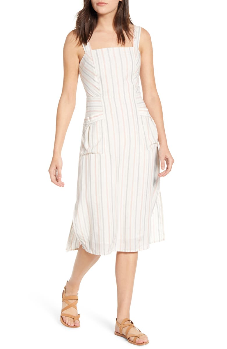 SPLENDID Dume Stripe Sundress, Main, color, 655
