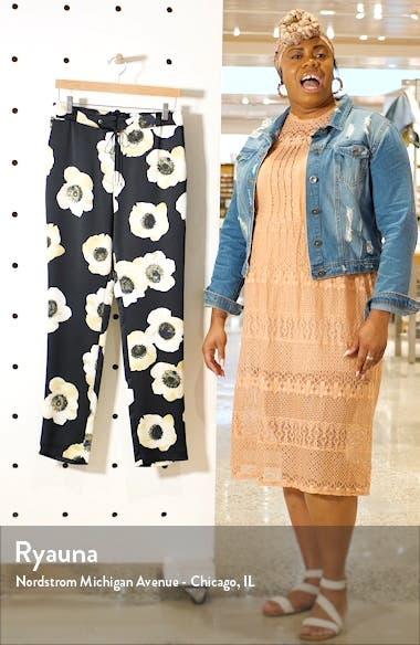 Holani Anemone Print Drawstring Pants, sales video thumbnail