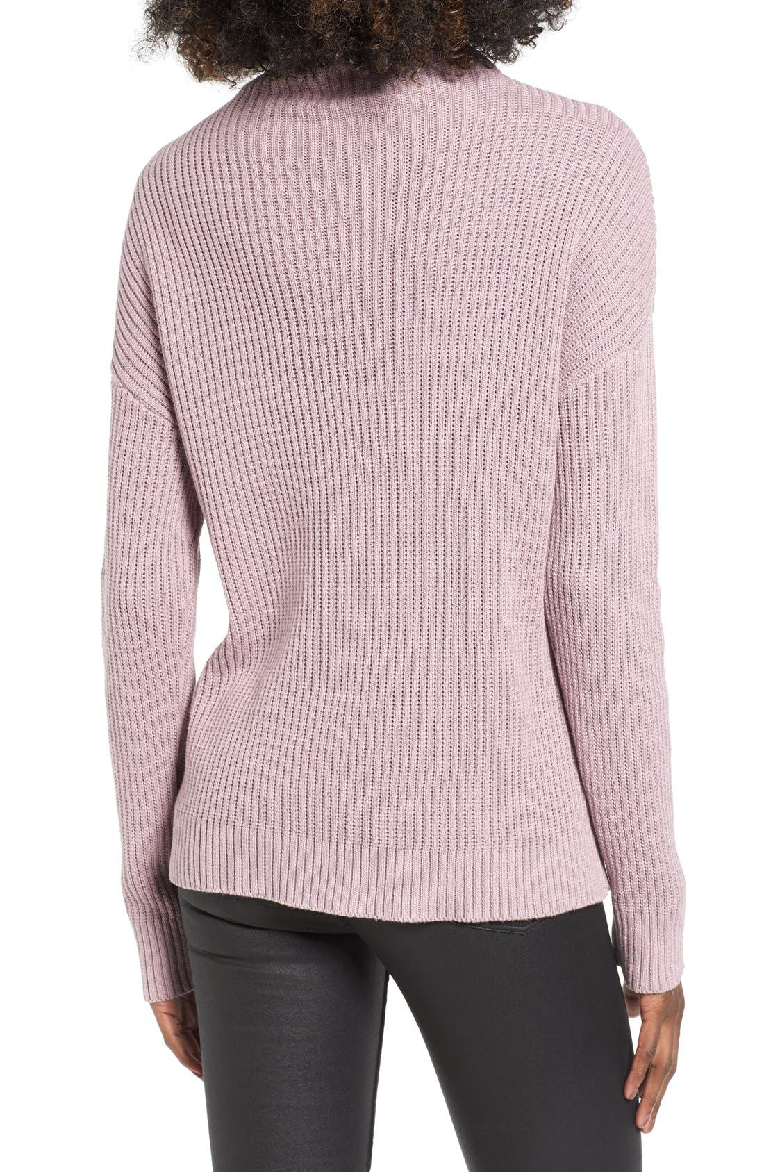 ,                             Mock Neck Sweater,                             Alternate thumbnail 27, color,                             530