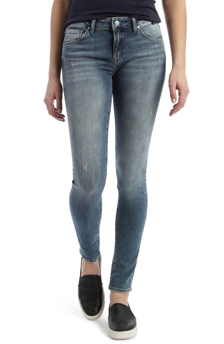 MAVI JEANS Adriana Skinny Jeans, Main, color, 420