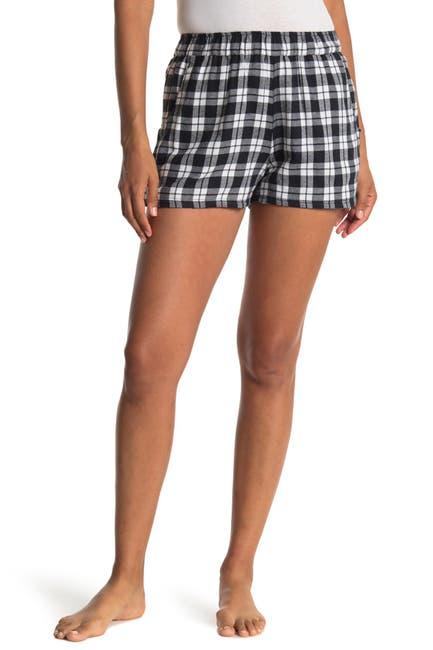 Image of Free Press Flannel Pajama Shorts