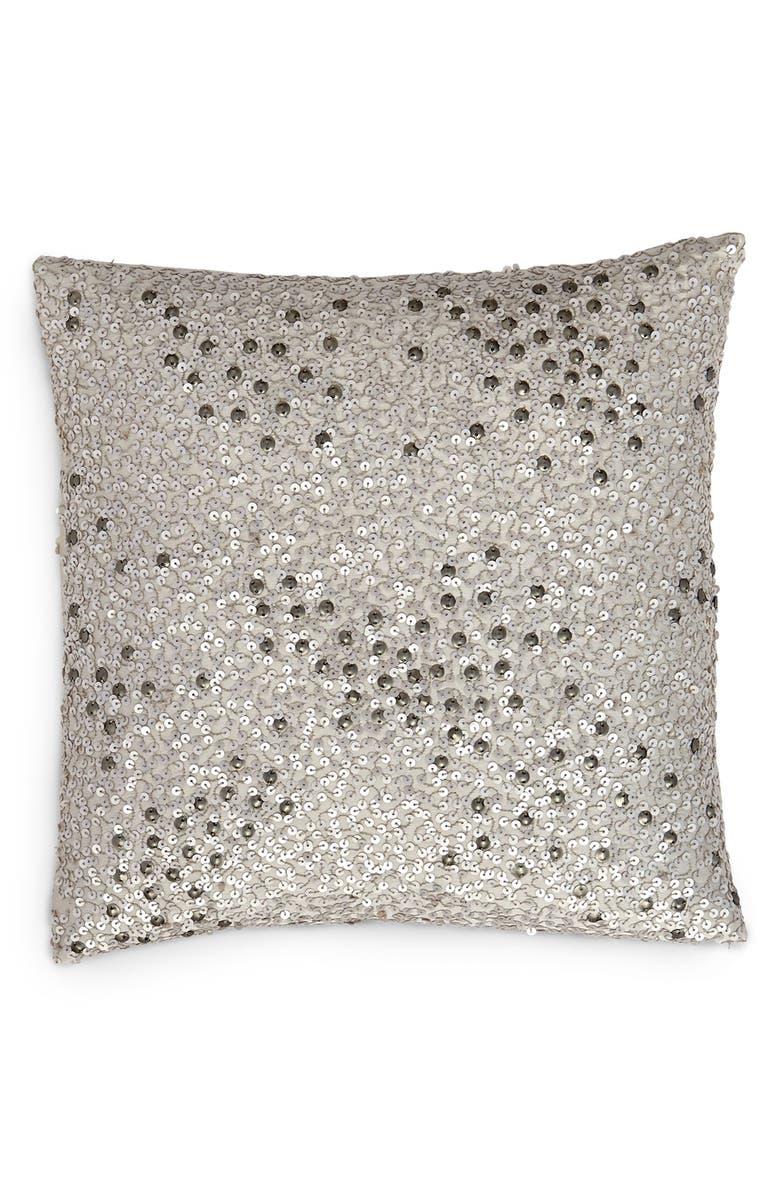 DONNA KARAN NEW YORK Donna Karan Collection 'Reflection' Sequin Pillow, Main, color, 040