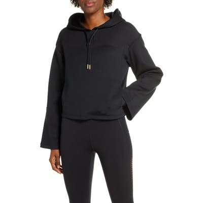 Nike Boutique Dri-Fit Fringe Hoodie, Black