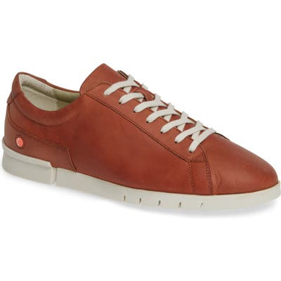 Softinos By Fly London Cer Low-Top Sneaker, Brown