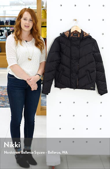Short Hooded Puffer Jacket, sales video thumbnail