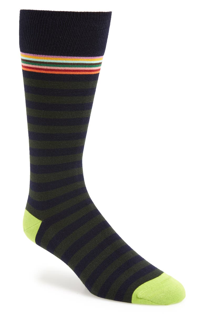 PAUL SMITH Two Stripe Socks, Main, color, 434
