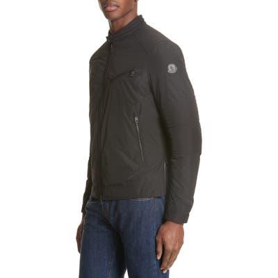 Moncler Gimont Giubbotto Micro Ventile Down Jacket, Black