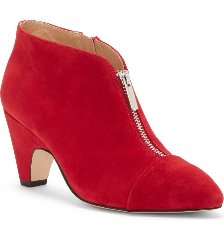 CC CORSO COMO<SUP>®</SUP> Bailie Bootie, Main, color, RED SUEDE