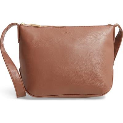 Matt & Nat Large Sam Faux Leather Crossbody Bag -