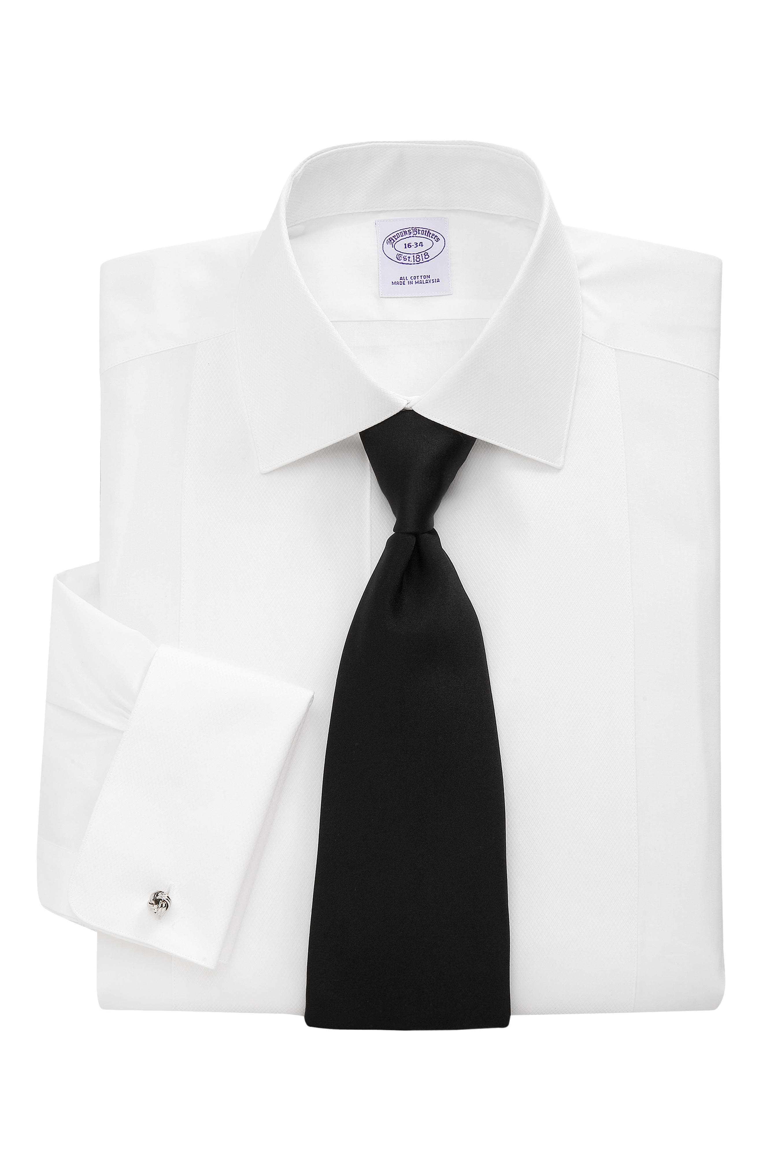 ,                             Classic Fit Formal Shirt,                             Main thumbnail 1, color,                             WHITE