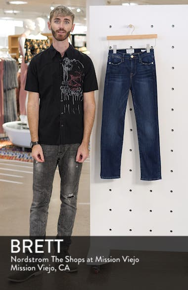 Le High Straight Leg Jeans, sales video thumbnail