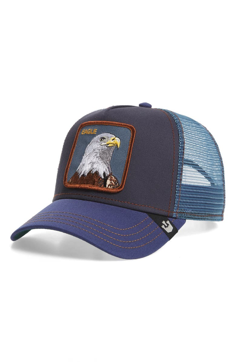 GOORIN BROS. Flying Eagle Trucker Hat, Main, color, 415