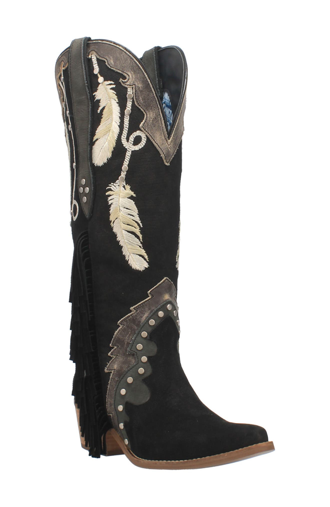 Embroidered Western Boot