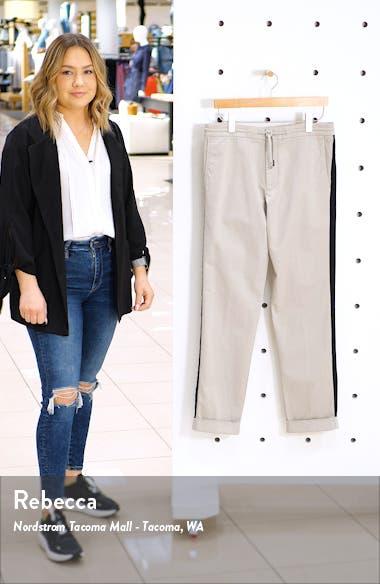 Side Stripe Drawstring Pants, sales video thumbnail