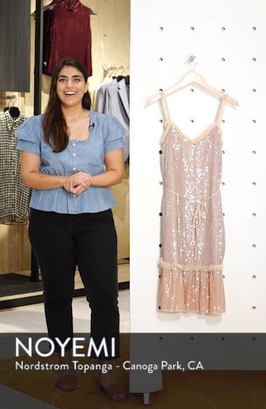 Gloss Sequin Ruffle Dress, sales video thumbnail
