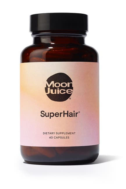 Image of Moon Juice Mini SuperHair(R) Daily Hair Nutrition Supplement