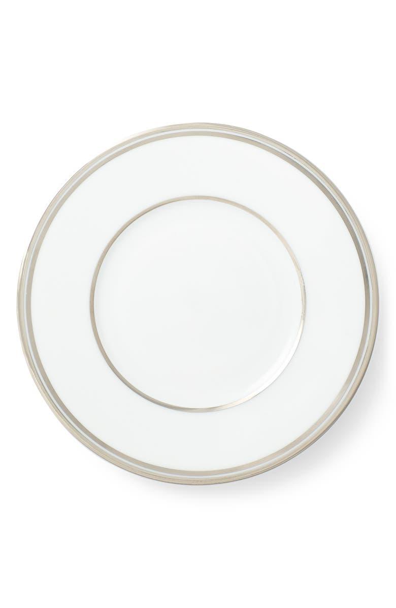 RALPH LAUREN Wilshire Bread & Butter Plate, Main, color, PLATINUM