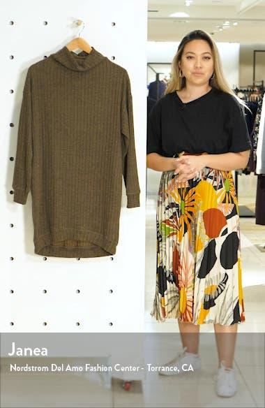Funnel Neck Rib Dress, sales video thumbnail