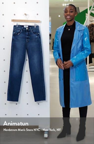 Le Sylvie High Waist Raw Edge Jeans, sales video thumbnail