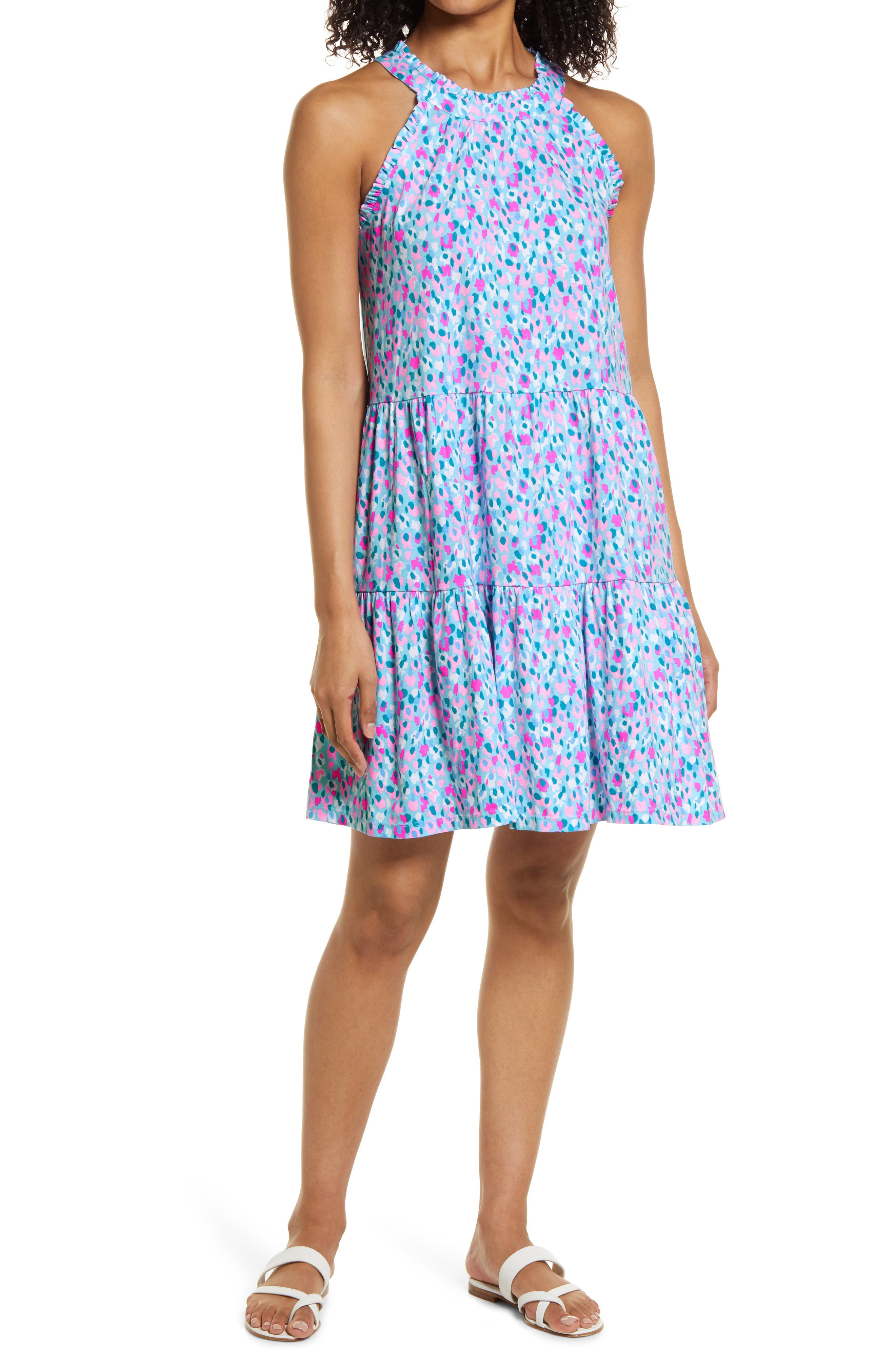 Women's Lilly Pulitzer Jerrica Dot Print Sleeveless Dress