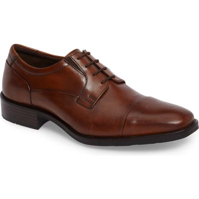 Johnston & Murphy Lancaster Cap Toe Derby, Brown