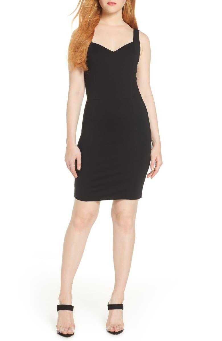 ALI & JAY Treat You Right Sheath Dress, Main, color, 001