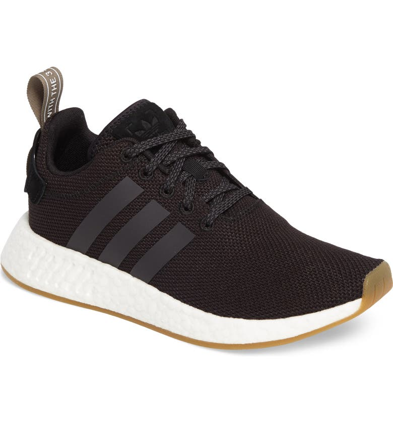 ADIDAS NMD-R2 Knit Sneaker, Main, color, 001