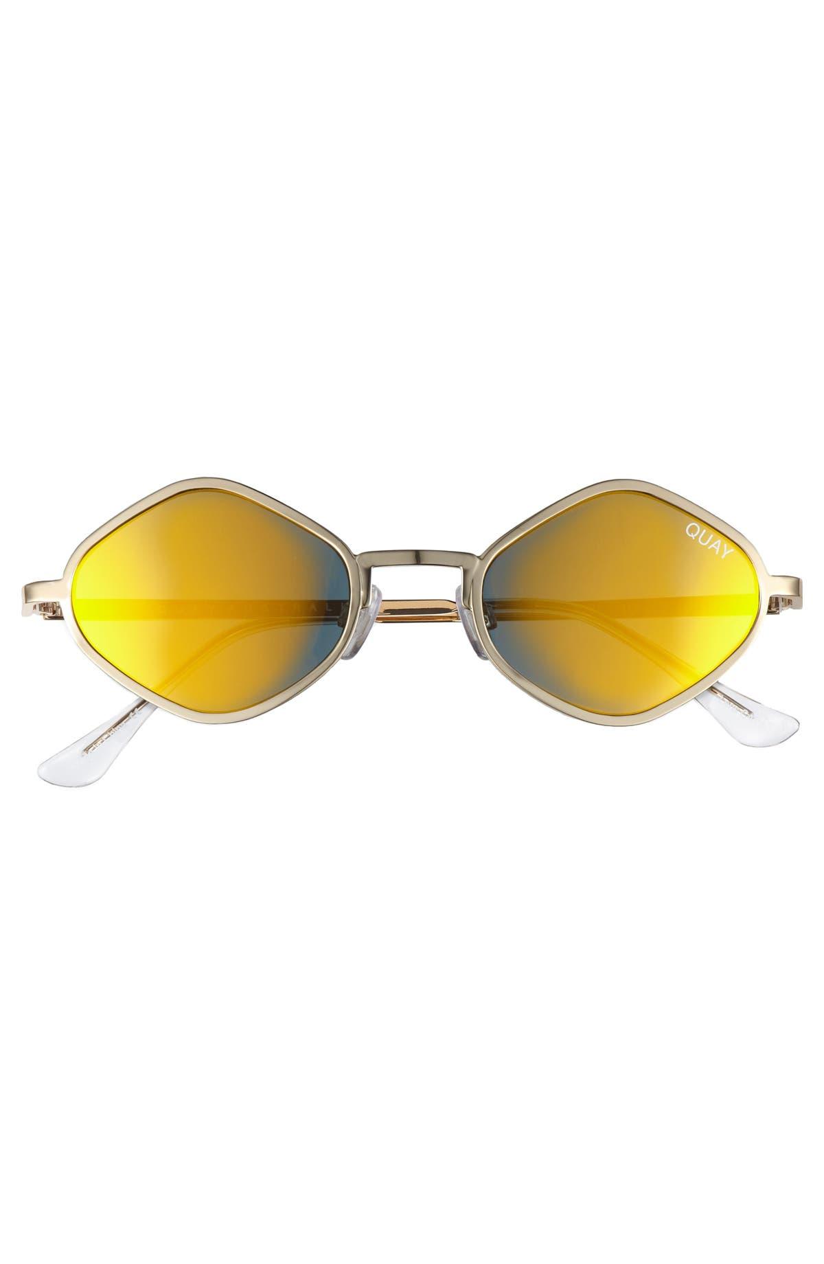 7249fb9ed4909 Quay Australia Purple Honey 48mm Geo Sunglasses