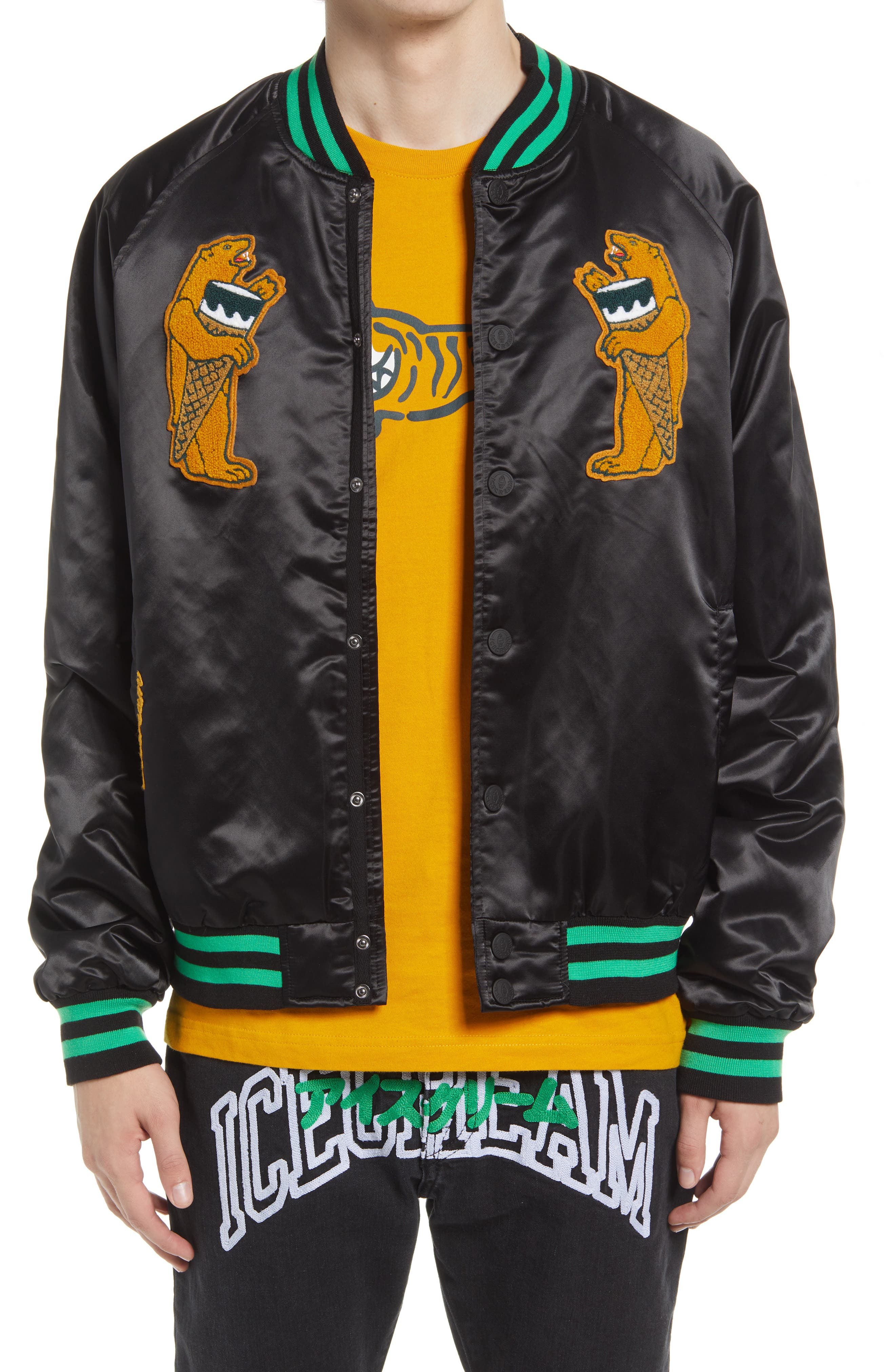 Men's Bears Varsity Jacket