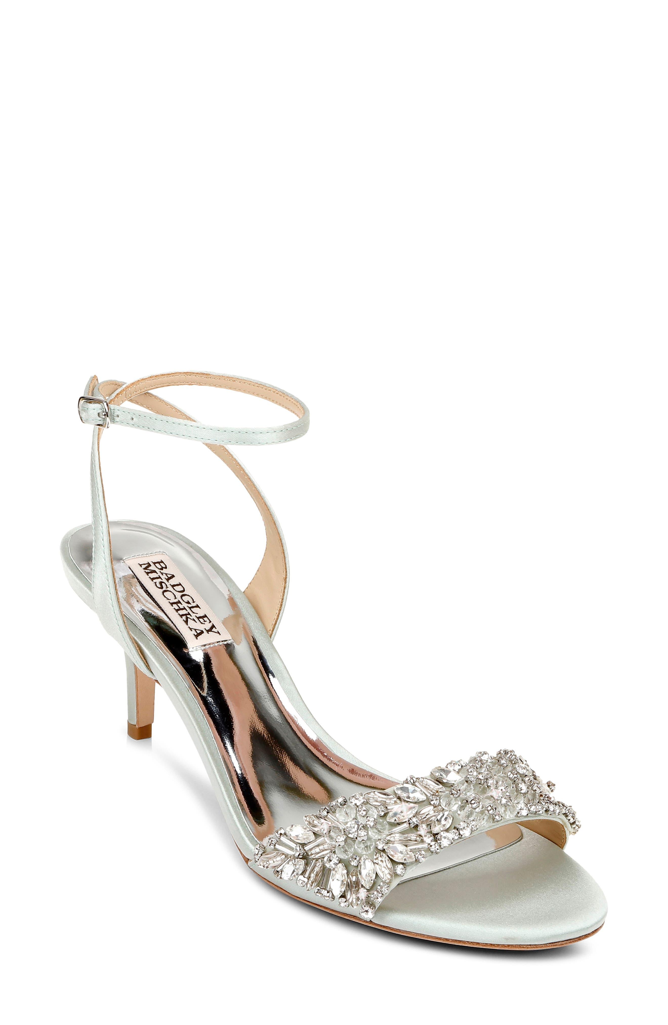Women's Badgley Mischka Richelle Embellished Ankle Strap Sandal