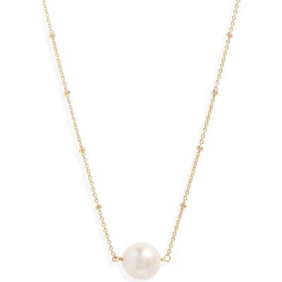 Serefina Delicate Genuine Pearl Necklace