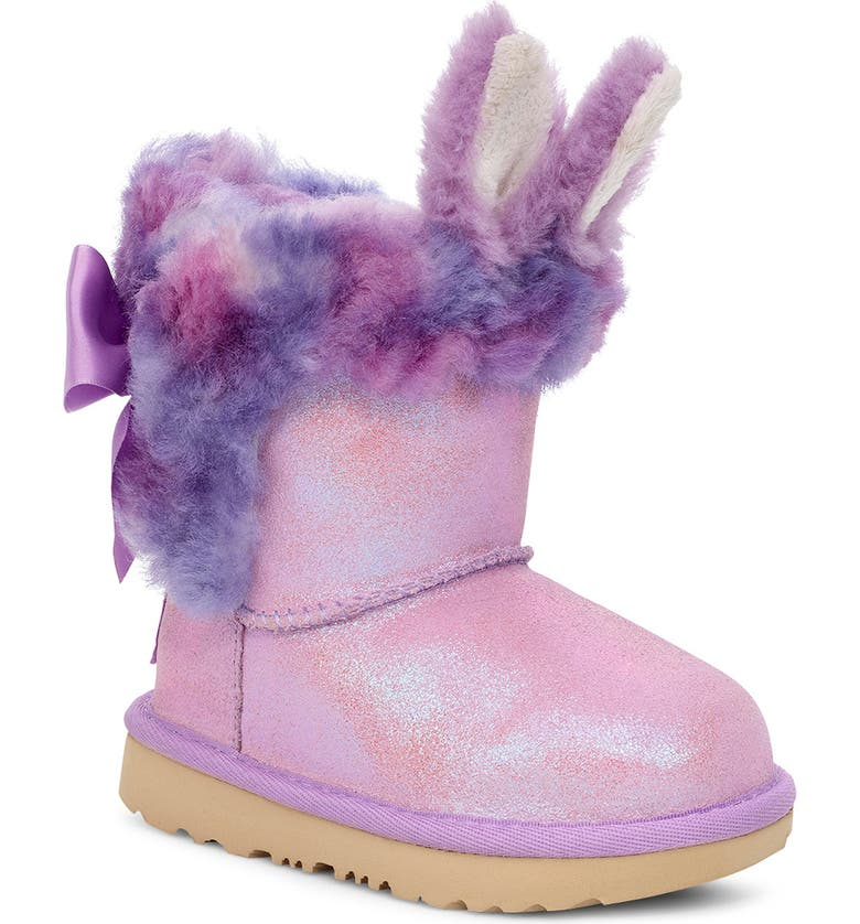 UGG<SUP>®</SUP> Paz Classic II Genuine Shearling Bootie, Main, color, 535