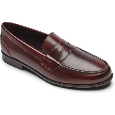Rockport Classic Penny Loafer, Burgundy