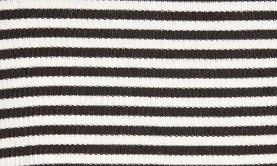 BLACK- WHITE JAMIE STRIPE