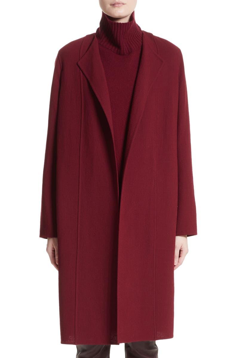 LAFAYETTE 148 NEW YORK Robyn Nouveau Crepe Coat, Main, color, 624