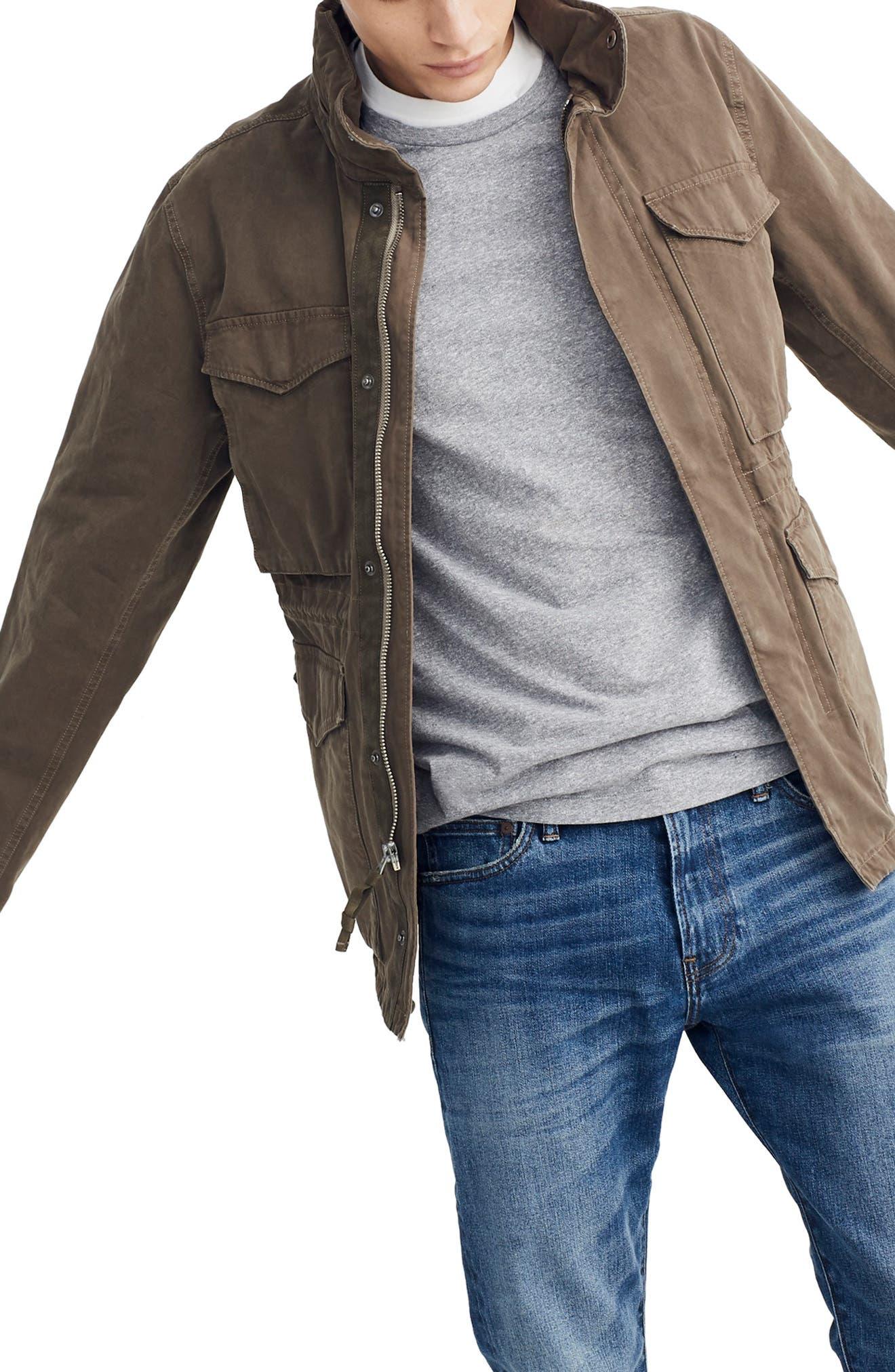 Slim Fit Field Jacket