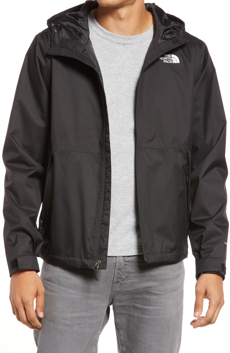 THE NORTH FACE Millerton Waterproof Hooded Jacket, Main, color, TNF BLACK
