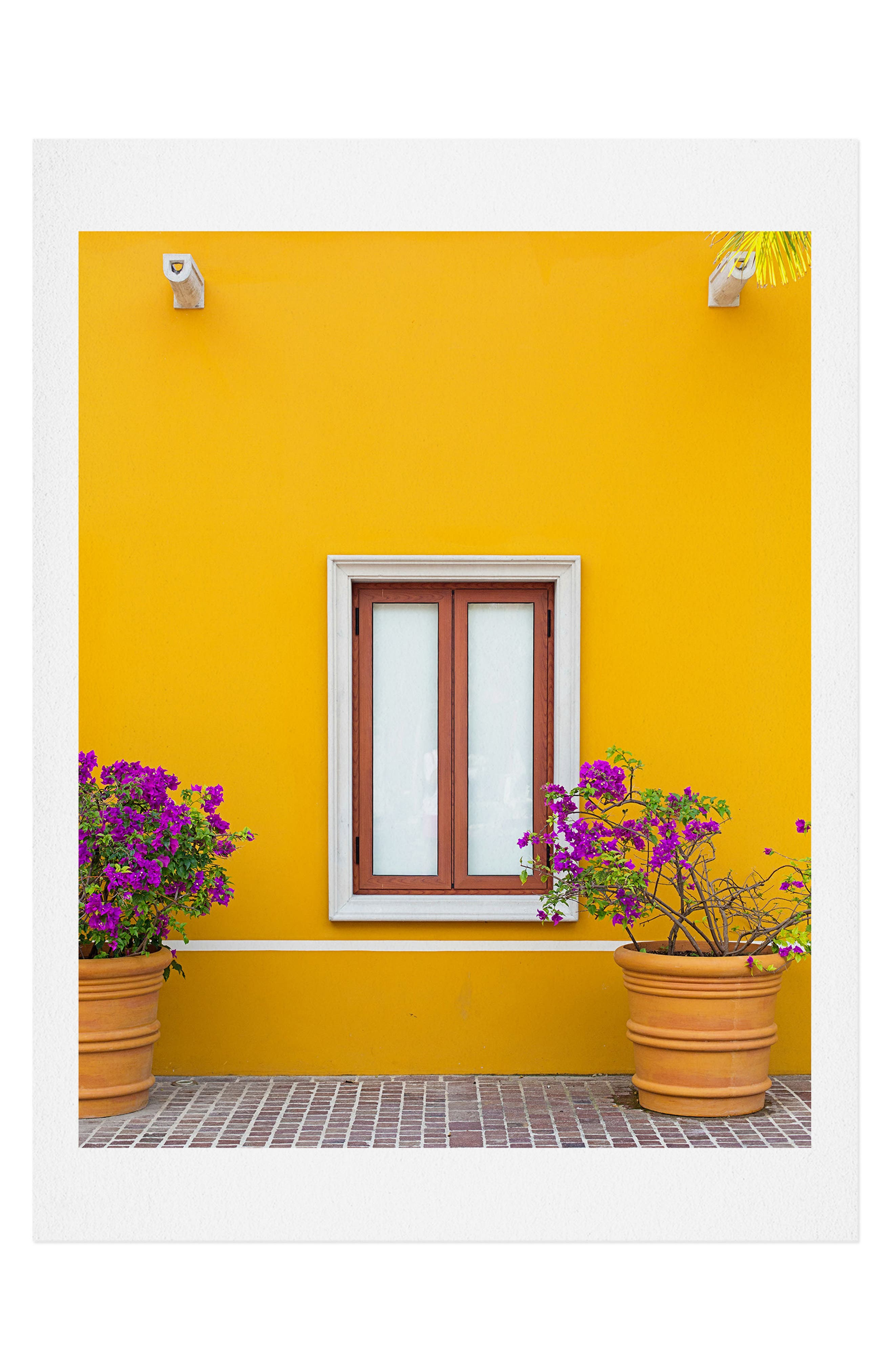 Make any space pop with the bright colors on this satin-finish art print available on its own or in a ready-to-hang frame. Style Name: Deny Designs El Pueblito Art Print. Style Number: 5867357. Available in stores.