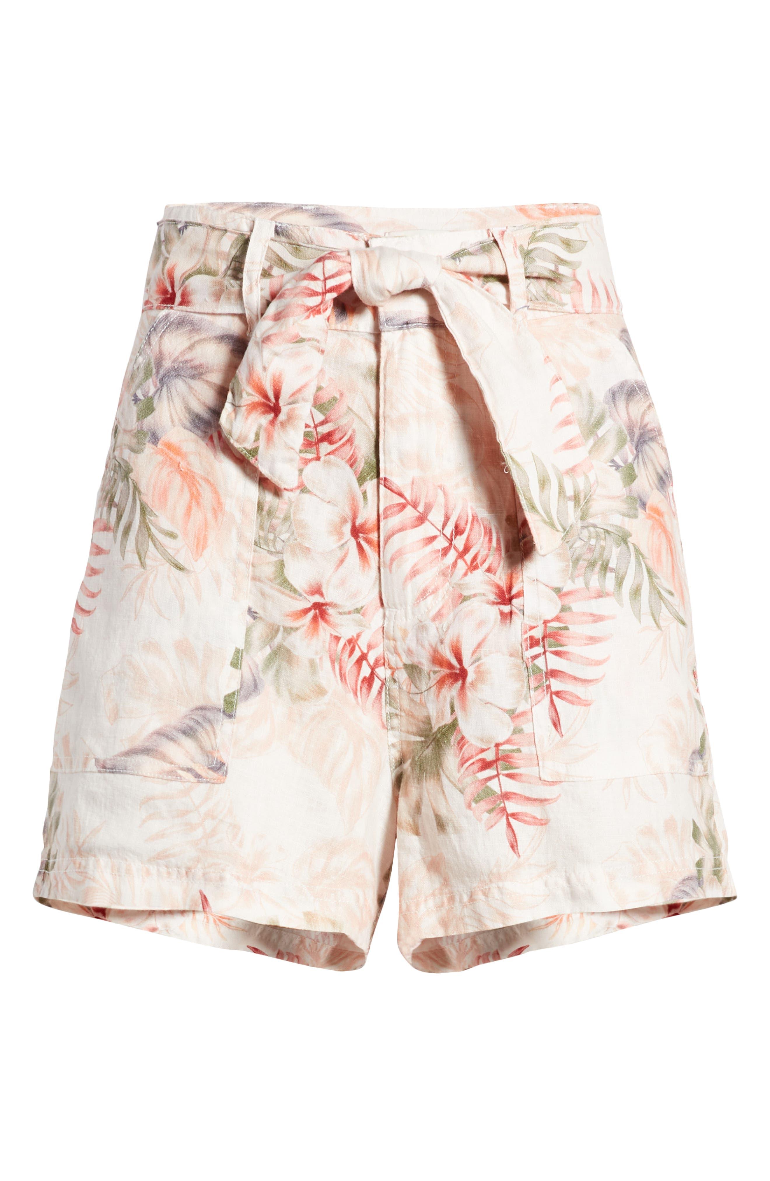 Brynn Linen Shorts