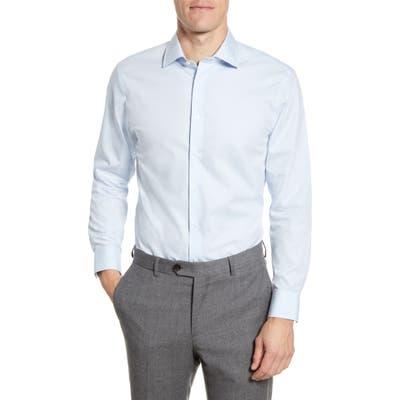 The Tie Bar Trim Fit Solid Dress Shirt - Blue