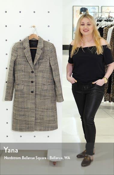 Rosalin Plaid Coat, sales video thumbnail