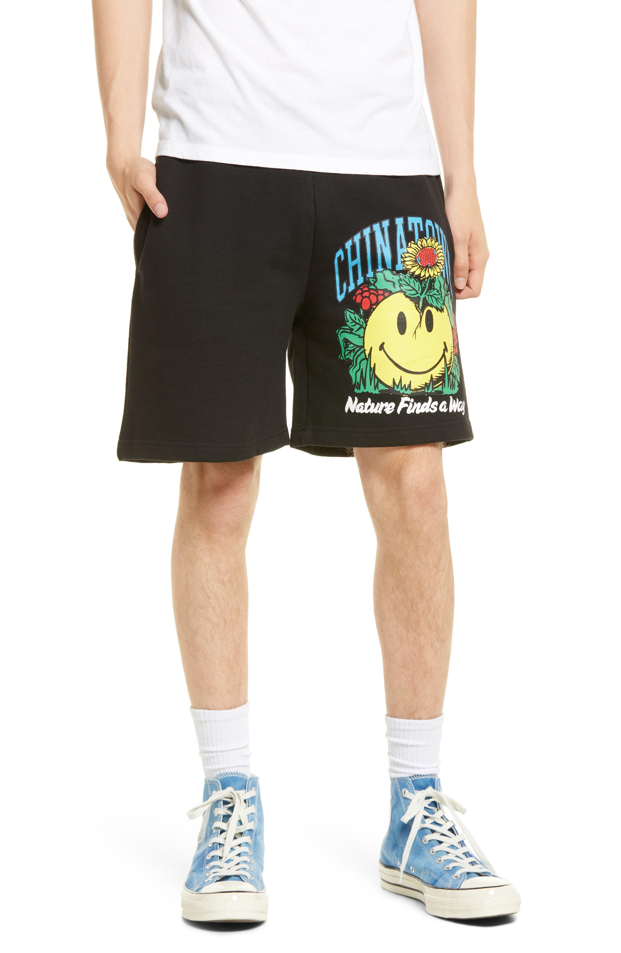 Men's Smiley Planter Shorts