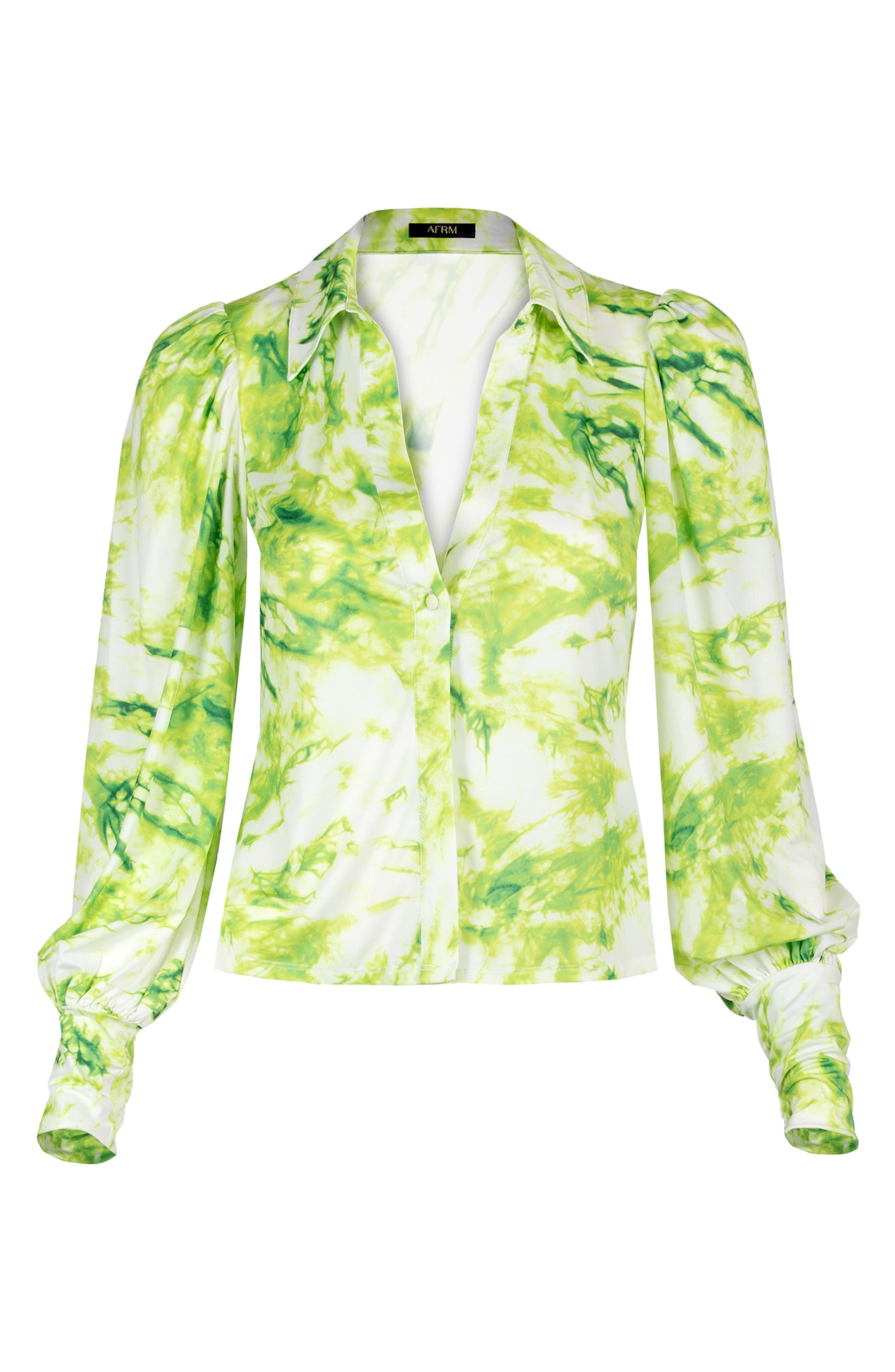 Zayne Tie Dye Print Blouse