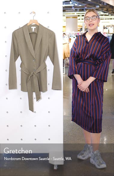 Belted Soft Jacket, sales video thumbnail