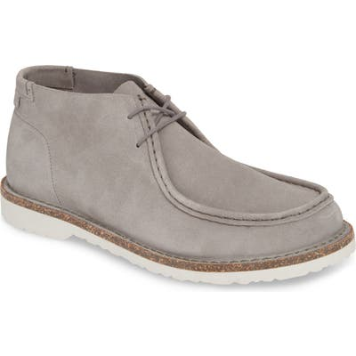 Birkenstock Delano Chukka Boot,12.5 - Grey