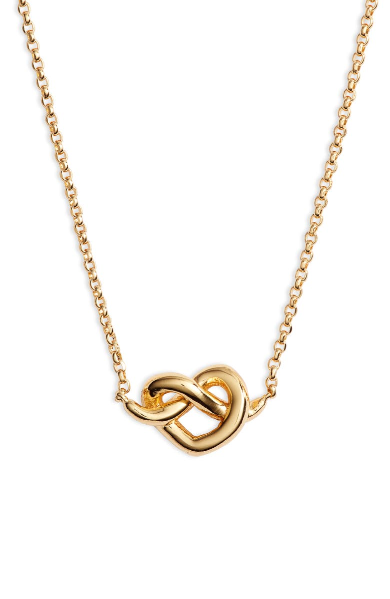 920aac96feb981 kate spade new york loves me knot mini pendant necklace | Nordstrom